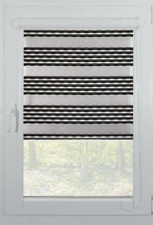 rolete textile day night casetate alb elegance-c11