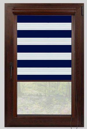 rolete textile day night casetate nuc plaine crown blue