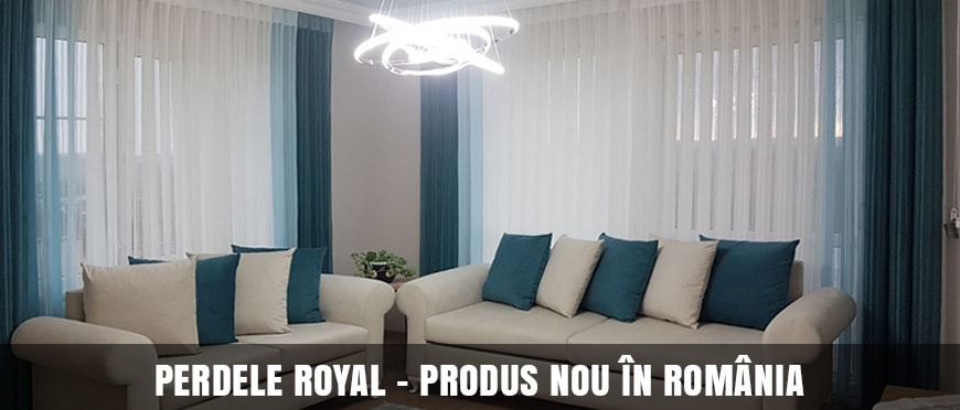 Perdele Royal pentru Living